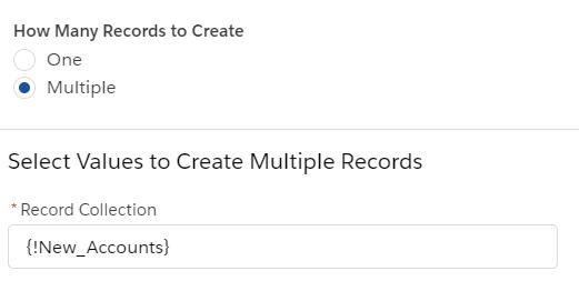 flow create records - setup