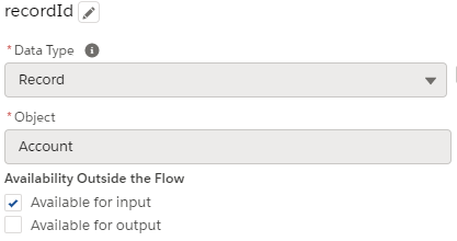 flow record Id