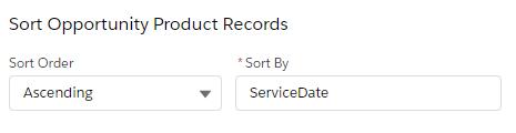 flow get records - sort order