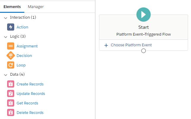 flow types - platform-event