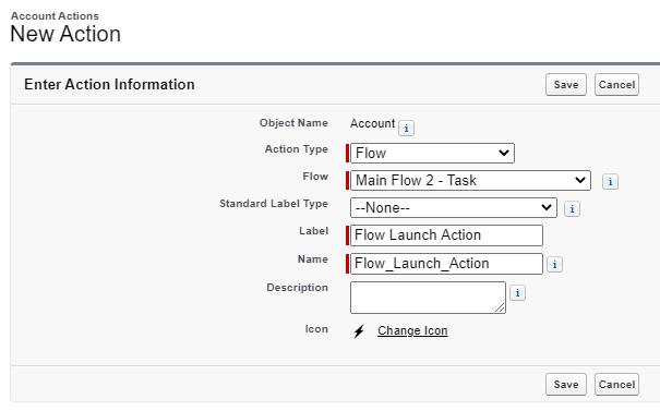 launch context - action -user context
